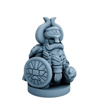 Small Dwarfclan Noble (18mm scale) 3D Printing 72186