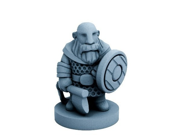 Medium Dwarfclan Bondi (18mm scale) 3D Printing 72187