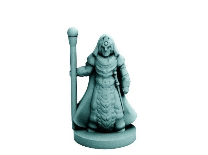 Starfall War Mage (18mm scale) 3D Print 72206