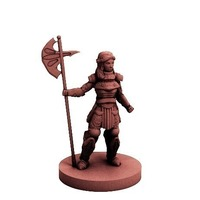 Small Knight of the Rose (18mm scale) 3D Printing 72234