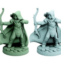 Small Elf Rangers (28mm scale) 3D Printing 72247