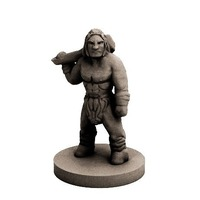 Small Caveman (18mm scale) 3D Printing 72274