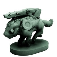 Small UberWulf (18mm scale) 3D Printing 72275