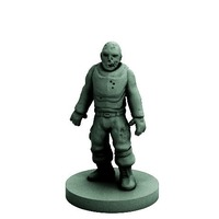 Small Zombie (18mm scale) 3D Printing 72276