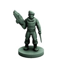 Small Lost Commando (18mm scale) 3D Printing 72277