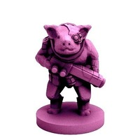 Small Pigman Commando (18mm scale) 3D Printing 72301