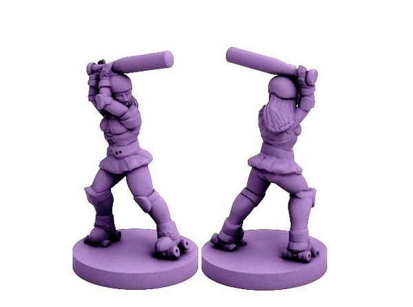 Medium OmniDerby Girl (18mm scale) 3D Printing 72311