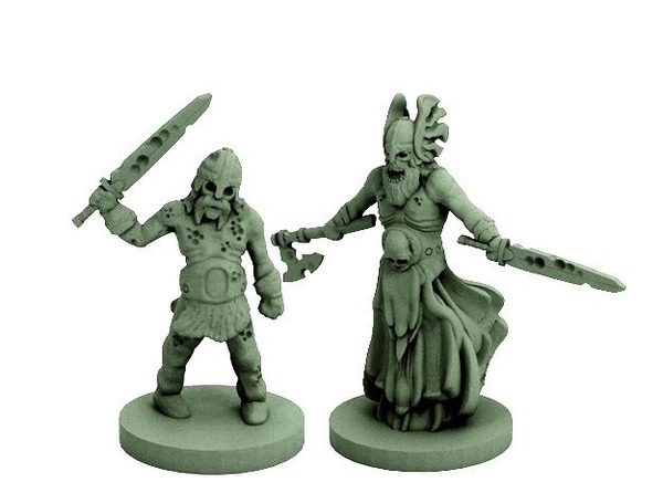 Medium Draugr (18mm scale) 3D Printing 72313