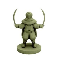 Small Bandit Dervish (18mm scale) 3D Printing 72327