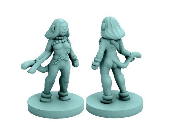 Medium Vanara Adventurer (18mm scale) 3D Printing 72332