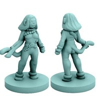 Small Vanara Adventurer (18mm scale) 3D Printing 72332