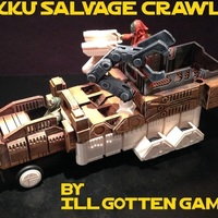 Small Jakku Salvage Crawler (Littlebits Star Wars Vehicle) 3D Printing 72342