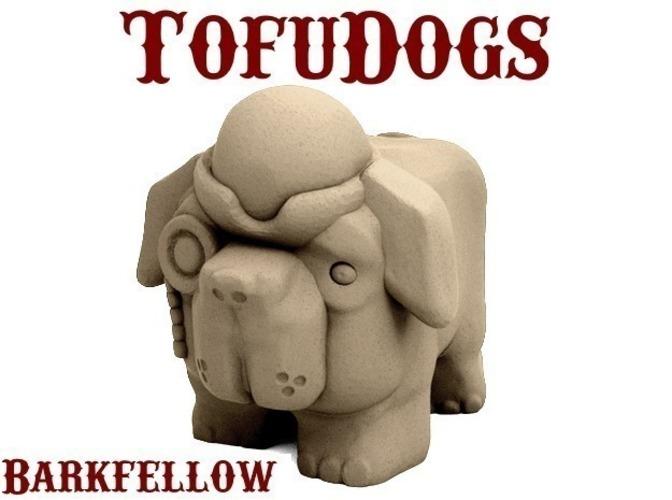 3D Printed Victorian Barkfellow Dog!!