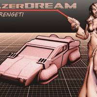 Small Serengeti LAZERDREAM (80's Hovercar in 18mm scale) 3D Printing 72359