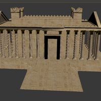 Small SYRIA. The Temple Of Baal 3D Printing 72449