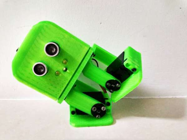 Medium Tito biped robot 3D Printing 72484