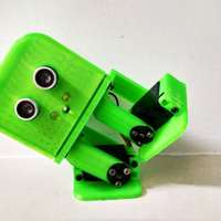 Small Tito biped robot 3D Printing 72484