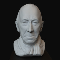 Small Max Von Sydow - 6inches 3D Printing 725