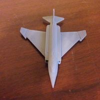 Small F-4 Phantom 3D Printing 72546