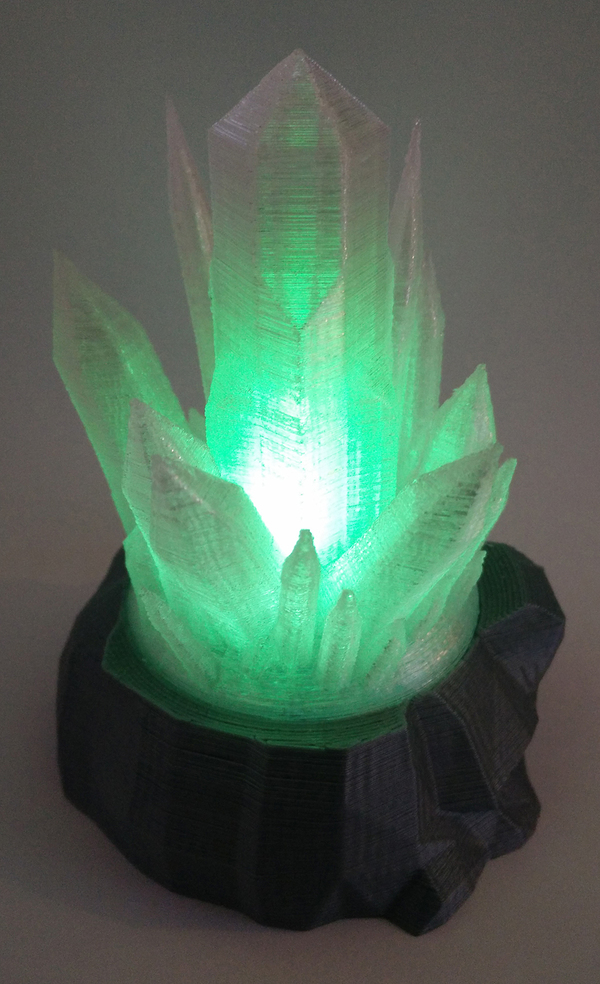 Medium Kryptonite tea light 3D Printing 72605