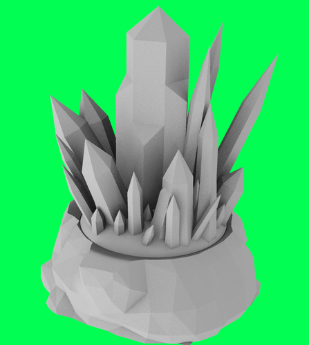 Kryptonite tea light 3D Print 72607