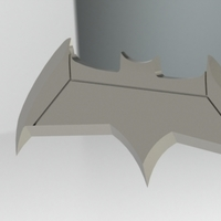 Small Batman vs Superman : Dawn Of Justice Batarang 3D Printing 72615