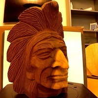 Small IndianHead1x4 3D Printing 72768