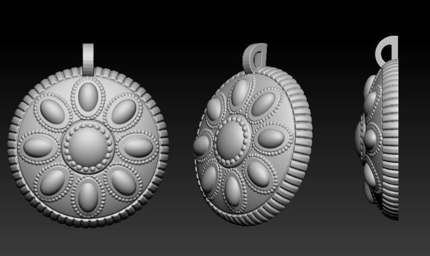 the last story yurick medal 3D Print 72920