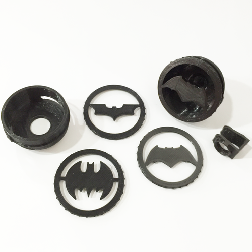 Clip-On Pocket Bat-Signal! 3D Print 73005
