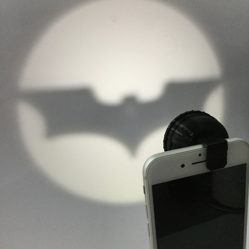 Clip-On Pocket Bat-Signal! 3D Print 73008