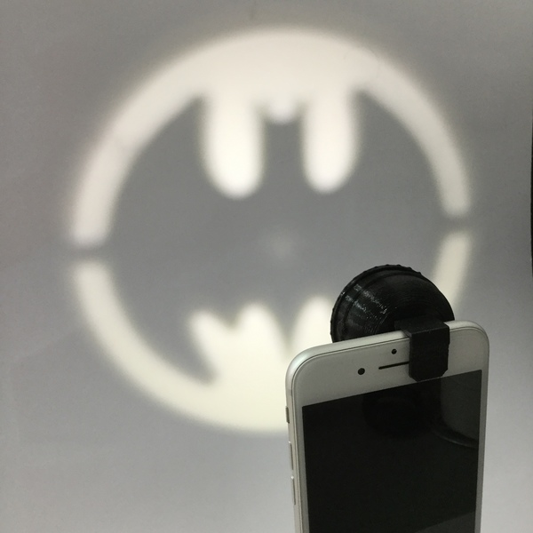 Medium Clip-On Pocket Bat-Signal! 3D Printing 73009