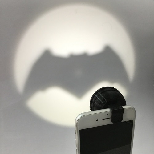 Clip-On Pocket Bat-Signal! 3D Print 73010