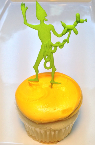 ZOMBIE CAKE TOPPER Bowel Balloon Animal 3D Print 7306