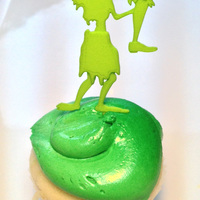Small ZOMBIE CAKE TOPPER Leg Present 3D Printing 7311