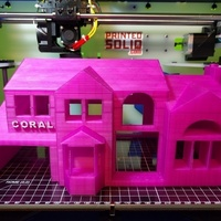 Small JohnEsc McMansion 3D Printing 73364
