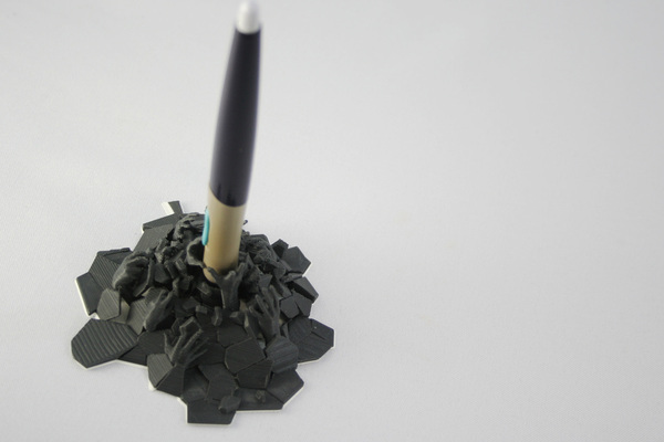 Medium Pen holder from Hell 3D Printing 73428