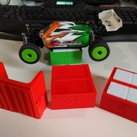Small 1:24 RC Work Stand 3D Printing 73483
