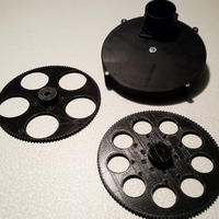 Small Manual Filter wheel 2.0 3D Printing 73485