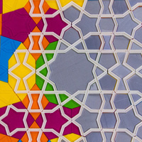 Small Girih Tiles for Interactive Islamic Designs  3D Printing 73549