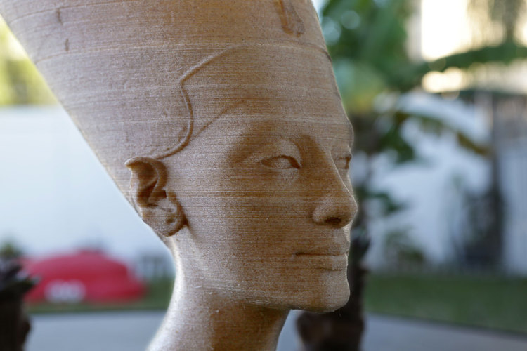 Nefertiti Bust [Hollow] 3D Print 74009