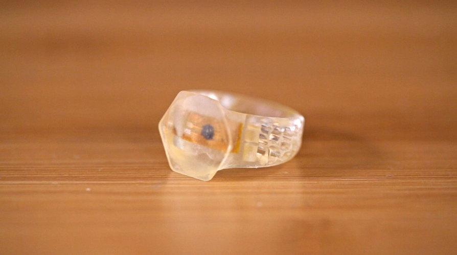 3D Printed NFC RFID Rings by Adafruit | Pinshape