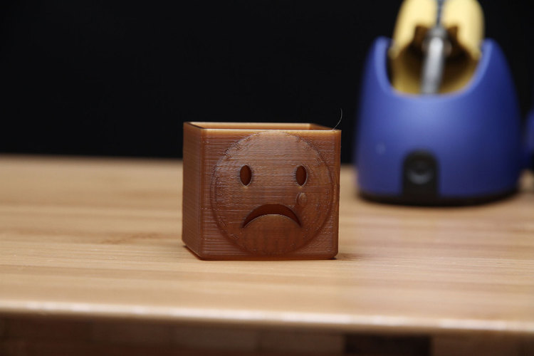Sad Face Box 3D Print 74019