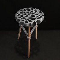 Small 3D Printed Stool 3D Printing 74039