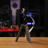 Small Raspberry Pi Camera Case and Tripod 3D Printing 74082