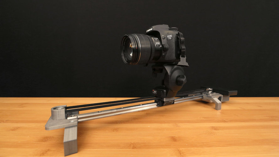 Bluetooth Motorized Camera Slider 3D Print 74123