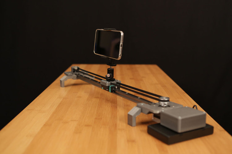 Bluetooth Motorized Camera Slider 3D Print 74124