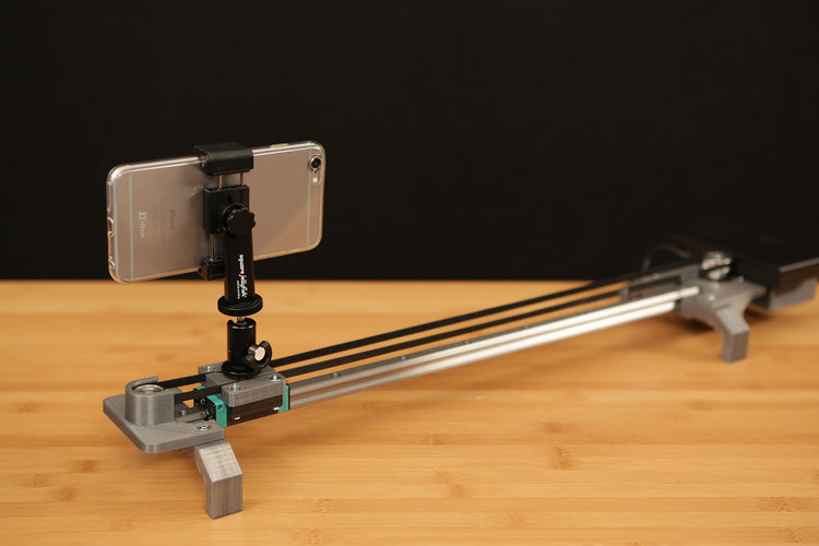 Bluetooth Motorized Camera Slider 3D Print 74126