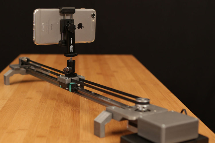 Bluetooth Motorized Camera Slider 3D Print 74127