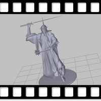 Small Angmar The Witch King 3D Printing 74262