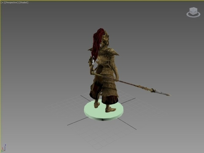 Dragon Slayer Ornstein - Dark Souls 3D Print 74336